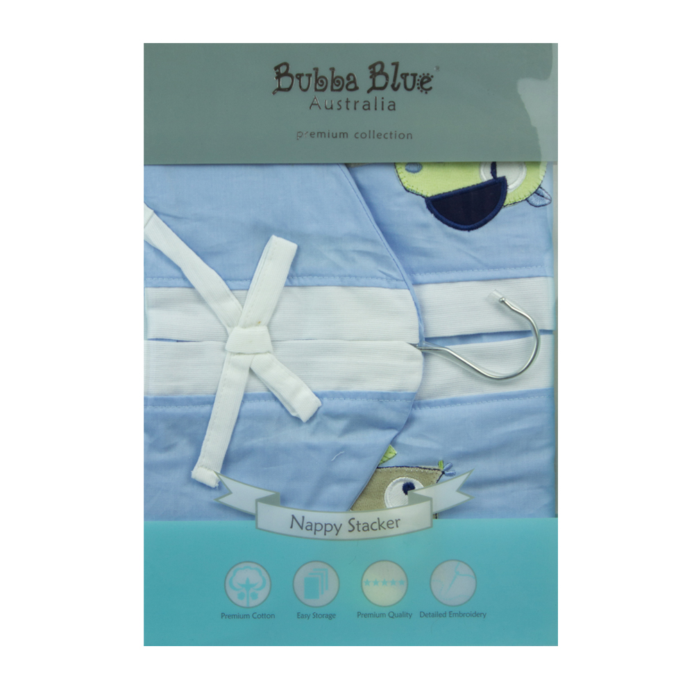 Bubba Blue Baby Owl Boy Nappies Stacker Mummy Bebe