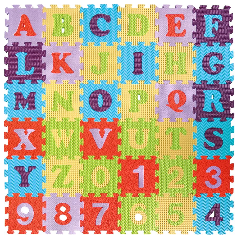 Gb Puzzle Mat Alphabet Amp Numbers Mummy Bebe