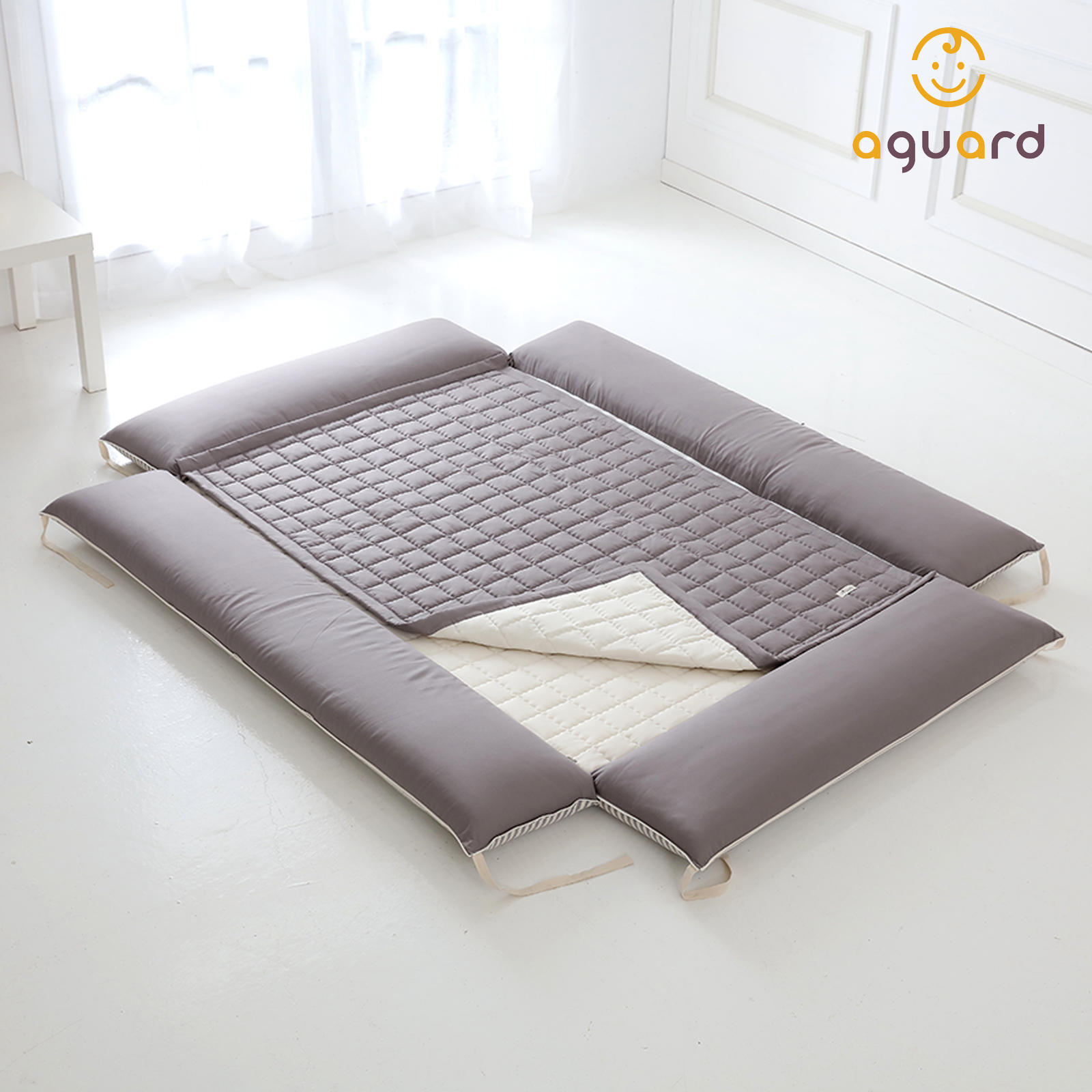 Aguard Bumper Bed Waterproof Mattress Protector L Mummy